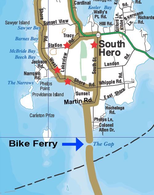 Bike Ferry Directions